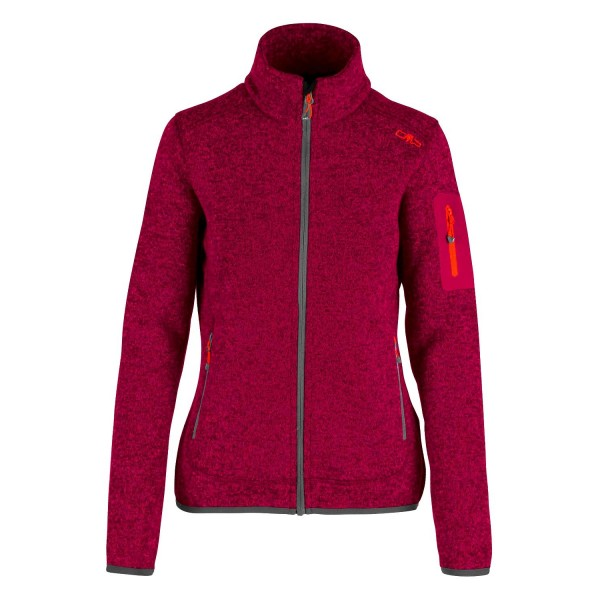 Chaqueta CMP Campagnolo Knitted Melange Magenta Antracite 3H14746 67BA