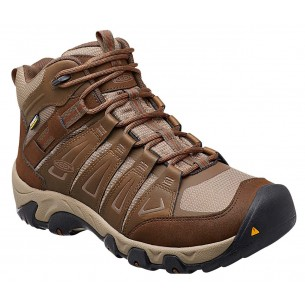 Bota Keen Oakridge Mid Waterproof Cascades Brown Brindle