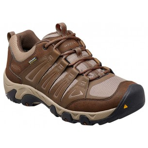 Zapatilla Keen Oakridge Low Waterproof Cascade Brown Brindle
