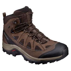 Salomon Authentic Leather GTX Black Coffee