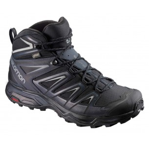 Salomon X Ultra 3 Mid GTX Black India Ink