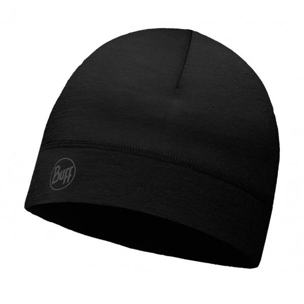 Buff Gorro Thermonet Solid Black 115346.999.10.00