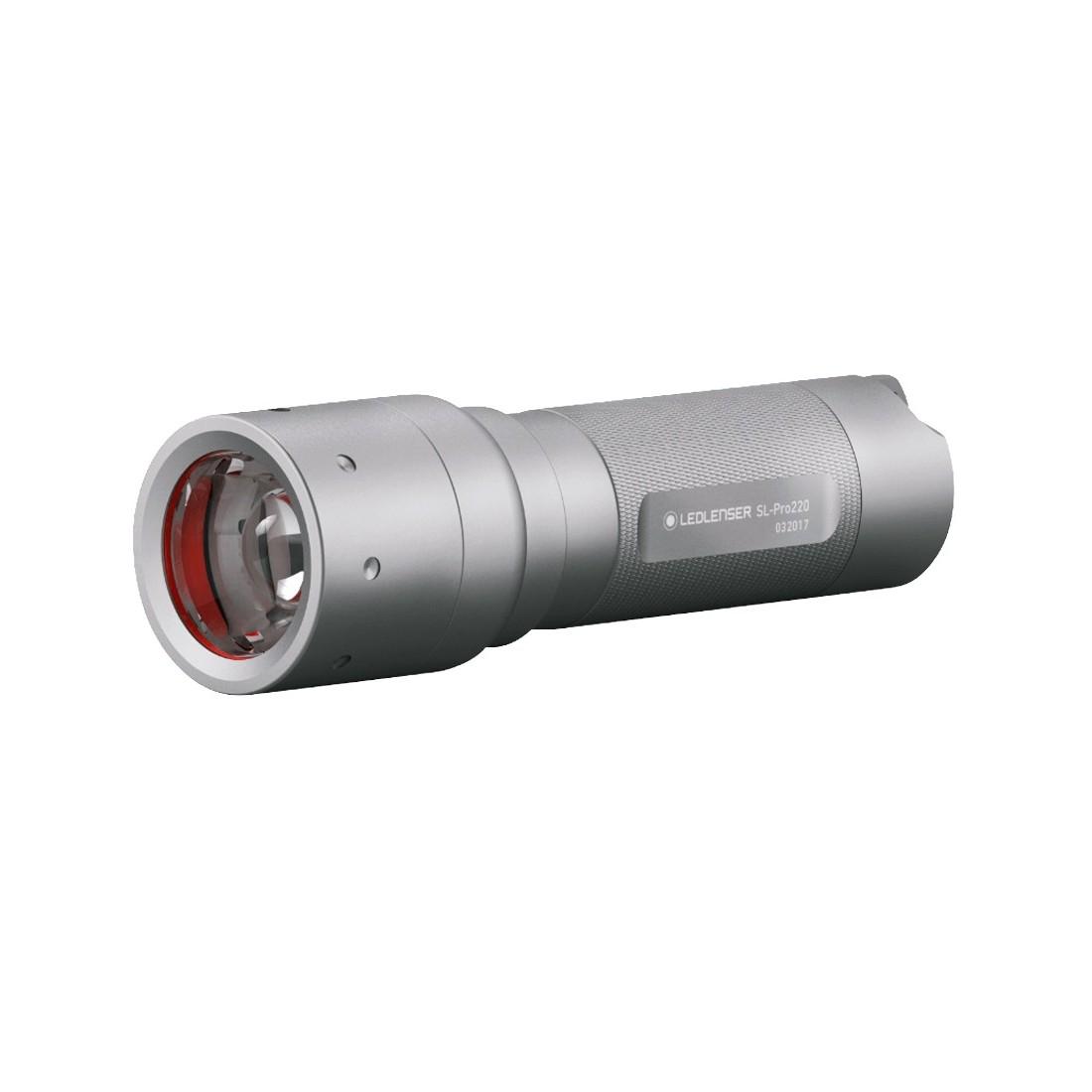 linterna led lenser slpro 220 501067 l menes 220. Black Bedroom Furniture Sets. Home Design Ideas