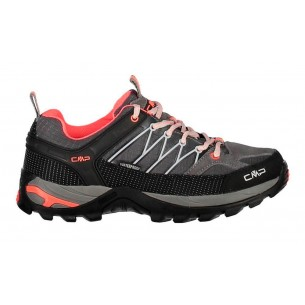 Zapatilla CMP Campagnolo Rigel Low Grey Red Fluo 3Q54456 46AK