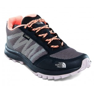 The North Face Litewave Fastpack GTX Grey Orange