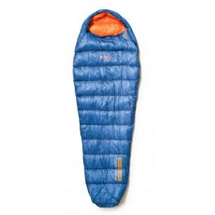Saco Altus Andes 400D Pluma Naranja Azul