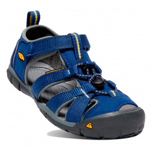 Sandalia Keen Older Kids Seacamp II Blue Depths/Gargoyle