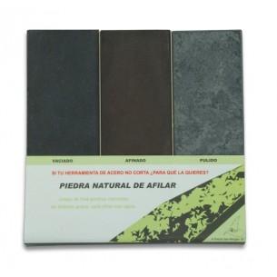 A Pedra Das Meigas - Set pedras de afilar