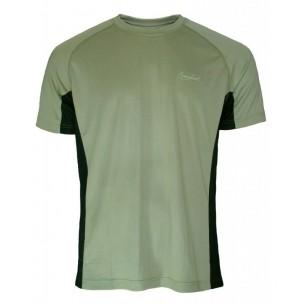 Camiseta Benisport Técnica Kaqui/Negra 446 M/C
