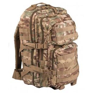 Mochila Táctica US ASSAULT MIL-TEC LG 36 L. Woodland Arid 14002256