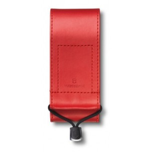 Funda Victorinox imitación piel roja para navaja bloqueable 111MM V.4.0482.1
