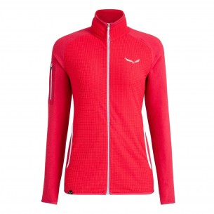 Salewa Chaqueta Polar Puez Plose 4 Woman Rose Red