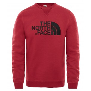 The North Face Jersey Cuello Redondo Drew Peak Rumba Red