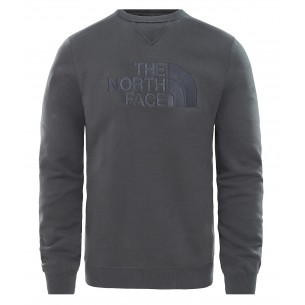 The North Face Jersey Cuello Redondo Drew Peak Asphalt Grey