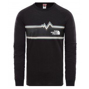 The North Face Camiseta M/L Ones Black
