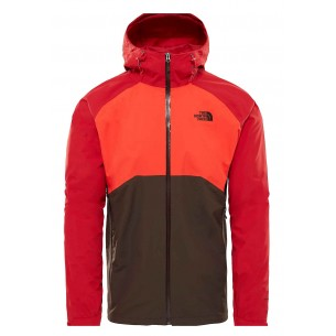 The North Face Stratos Jacket Red Orange