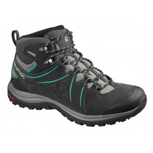 Salomon Ellipse 2 Mid Leather GTX W Phantom Castor Gray