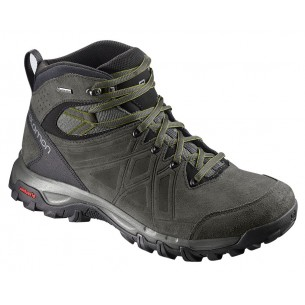 Salomon Evasion 2 Mid Leather GTX Castor Gray Beluga