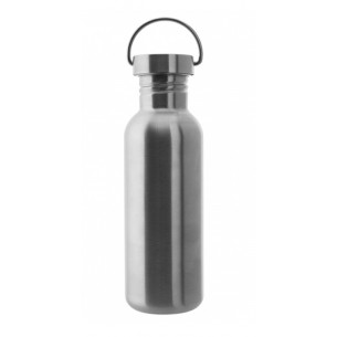 Laken Botella Acero Inoxidable Basic Steel 0,75L Tapón de Acero
