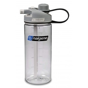 Cantimplora Nalgene Multi-Drink 0,6 L Gris