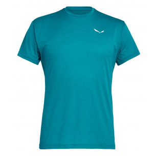 Salewa Camiseta Puez Melange Dry M/C Blue Ocean