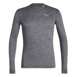 Salewa Camiseta Puez Melange Dry M/L Grey