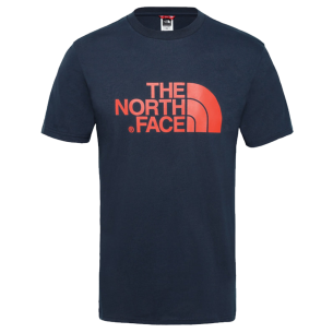 The North Face Easy Tee Urban Navy Fiery Red