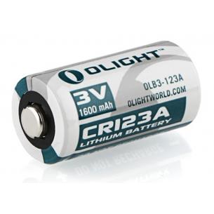 Pila Litio Olight CR123A 3V 1600mAh